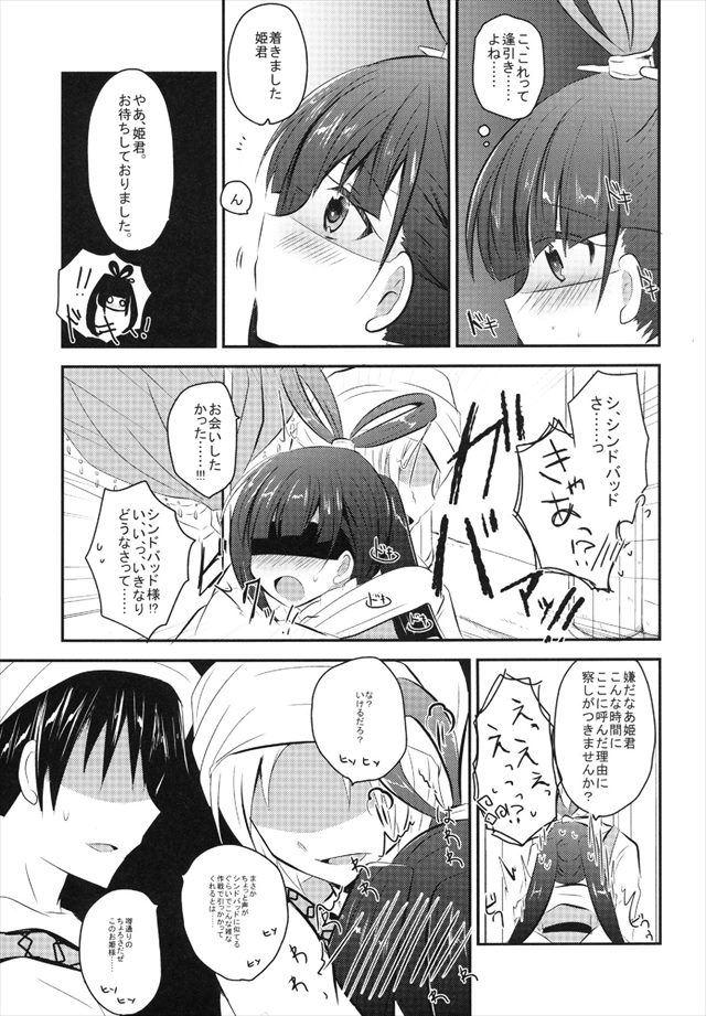 マギ エロマンガ・同人誌12006