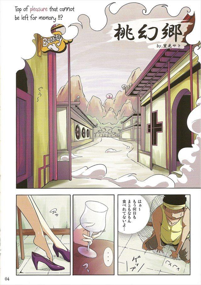 ワンピース エロマンガ・同人誌20004