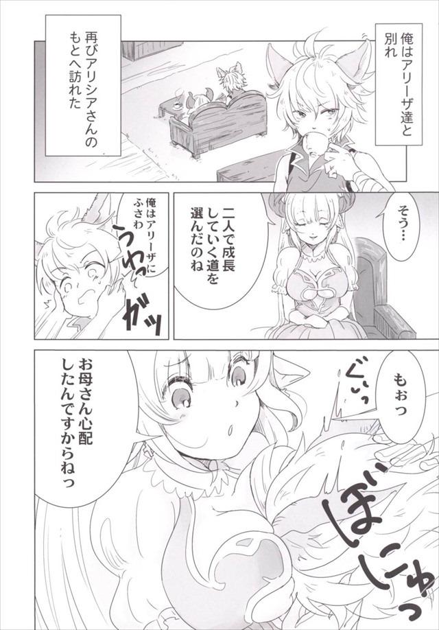 グラブル エロマンガ・同人誌10002