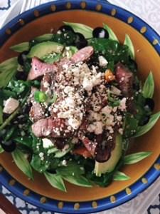 Spicy Steak Salad
