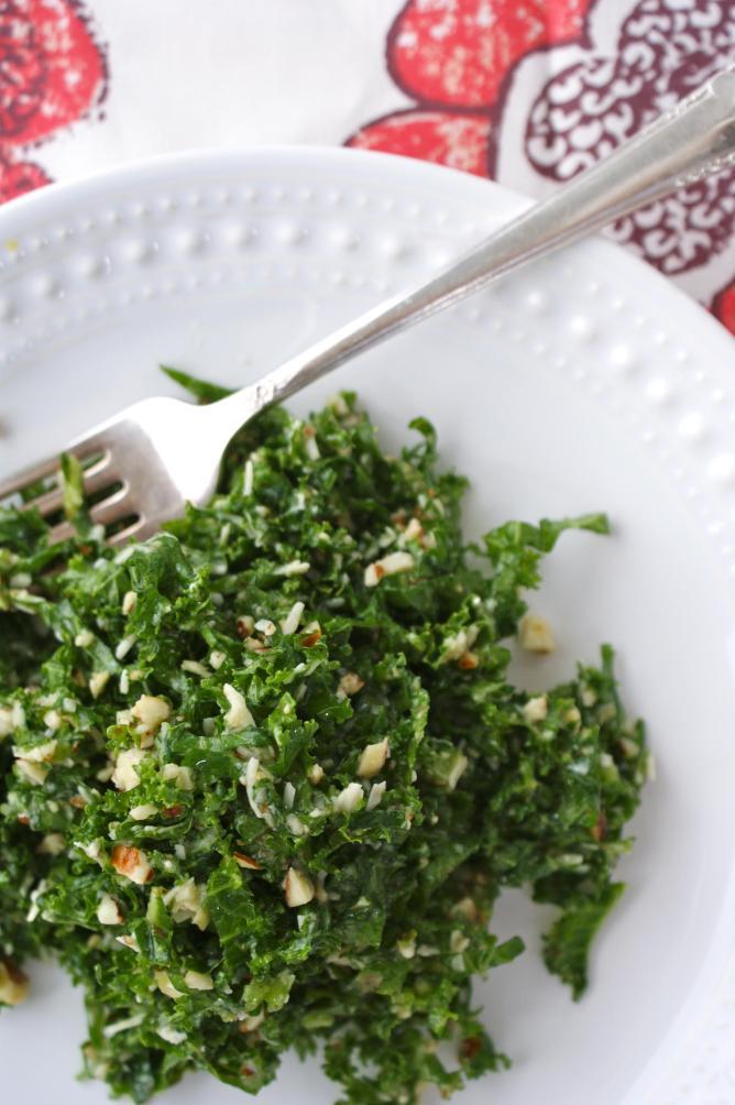Lemony Kale Salad
