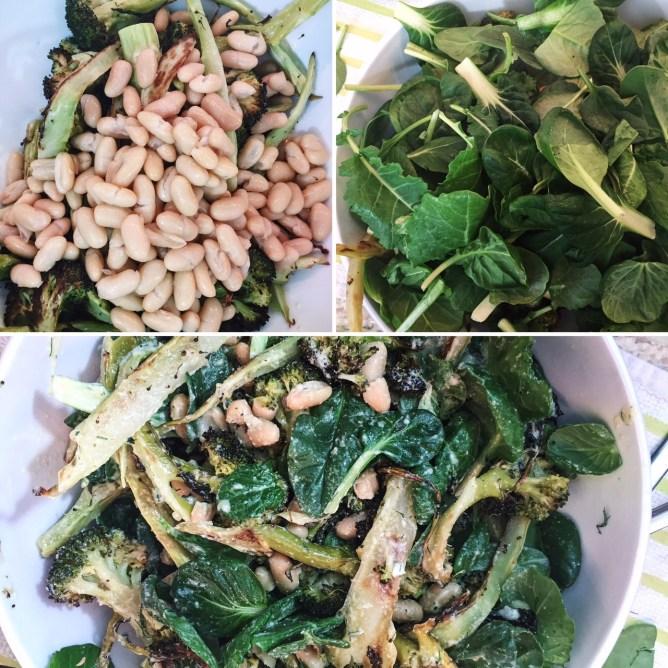 Tossed Roasted Broccoli Salad
