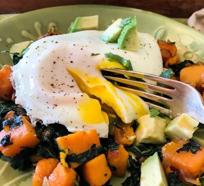 Sweet Potato Kale Hash
