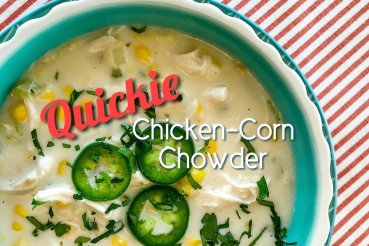 quickie chicken-corn chowder