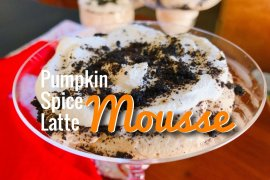 Pumpkin Spice Latte Mousse