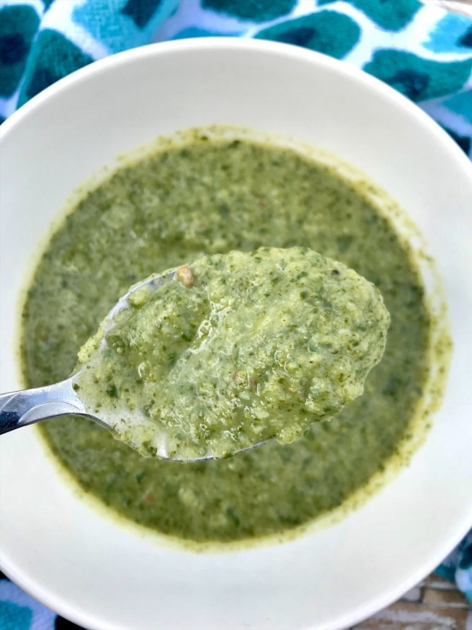 Spin-Rocolli Soup
