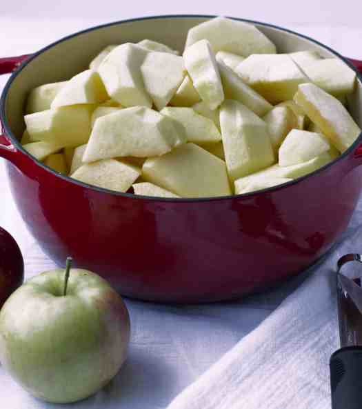 Easy Homemade Applesauce | kickassbaker.com #applesauce #homemade #easyrecipes #apples #fall #fallrecipes #kickassbaker