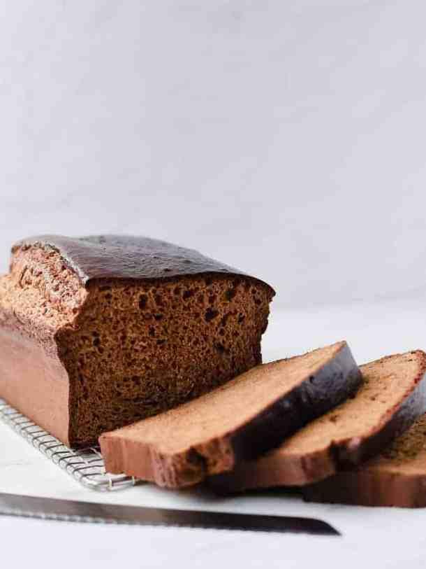 Paleo Sandwich Bread Nut-free   kickassbaker.com #paleo #sandwichbread #breadrecipe #nutfree #cleaneats #kickassbaker #glutenfree #dairyfree