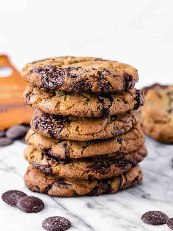 Easy Chocolate Chip Cookie Recipe by famous chef Jacques Torres | kickassbaker.com