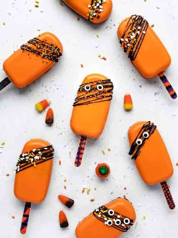 Kid Friendly Halloween Cakesicles Kickass Baker