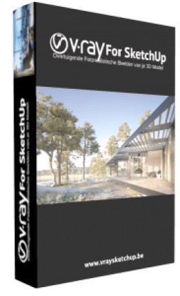 V-Ray 3 60 03 for SketchUp 2018 With Full Crack