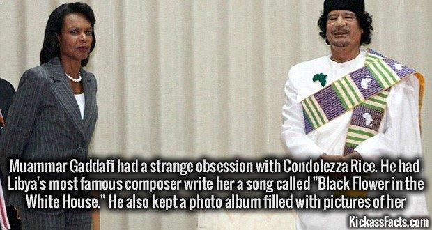 1157 Muammar Gaddafi Condoleezza Rice