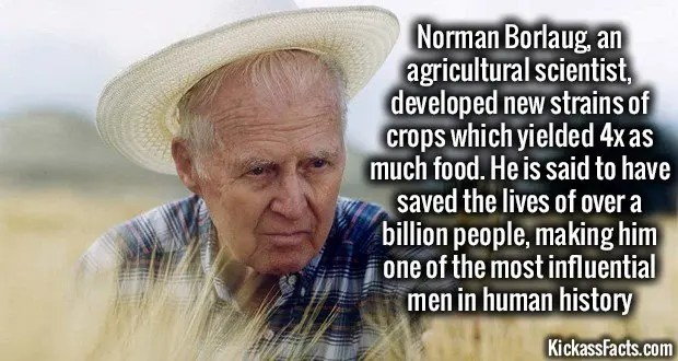 1161 Norman Borlaug