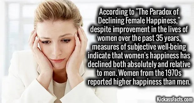 1467 Female Happiness Paradox