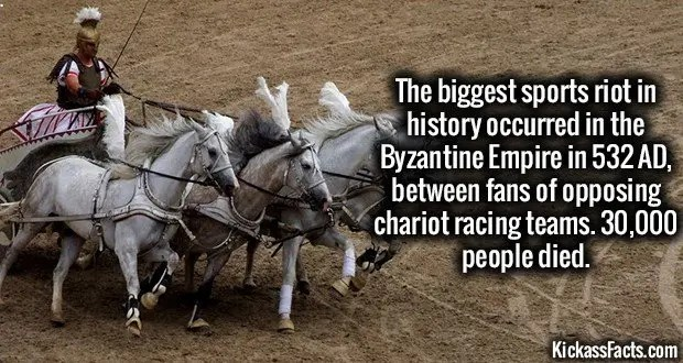 1491 Chariot Racing Riot