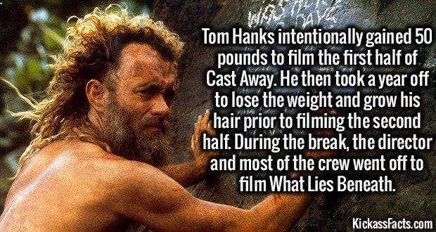 1731 Castaway Tom Hanks