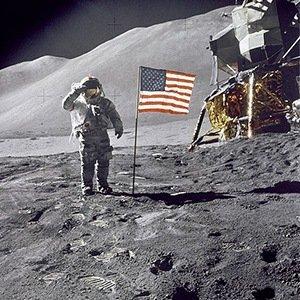 Moon Flag-Random Facts List