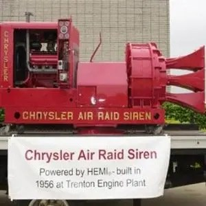 Chrysler Air Raid Siren-Random Fact List