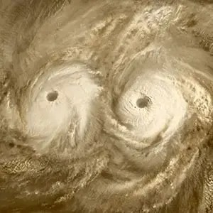 Venus Tornadoes-Kickass Random Facts List