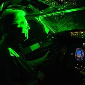 Lasers at Airplane-Random Facts List