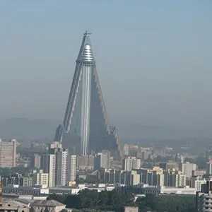 Ryugyong Hotel- Interesting Facts About North Korea