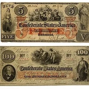 Union counterfeited Confederate currency-Interesting Facts About American Civil War