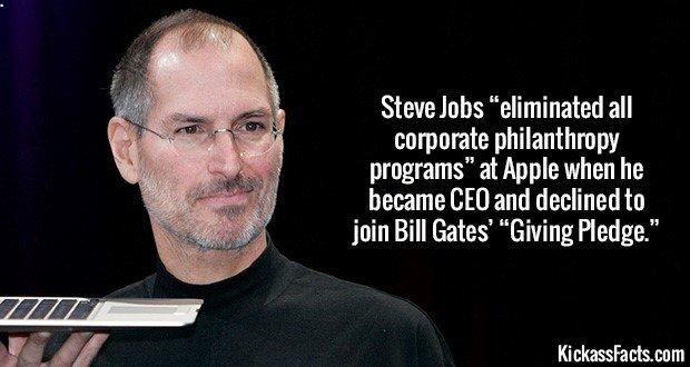 1767 Steve Jobs Non-charitable