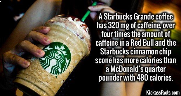 1805 Starbucks grande