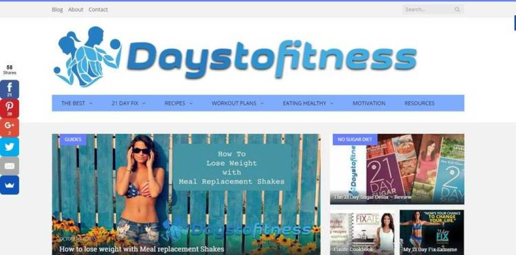 Days To Fitness