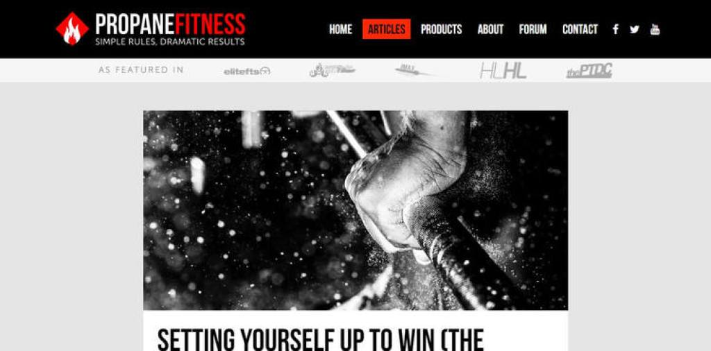 Propane Fitness