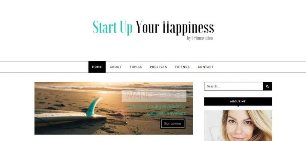 Start Up Your Happiness