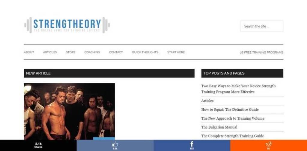 Strengtheory