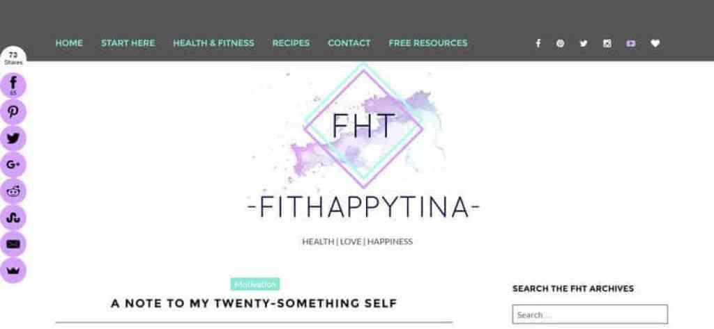 fit happy tina