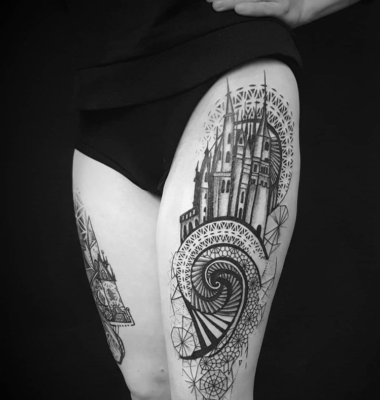 35 Of The Best Architecture Tattoos Or How To Have Your World On A Sleeve Kickass Things