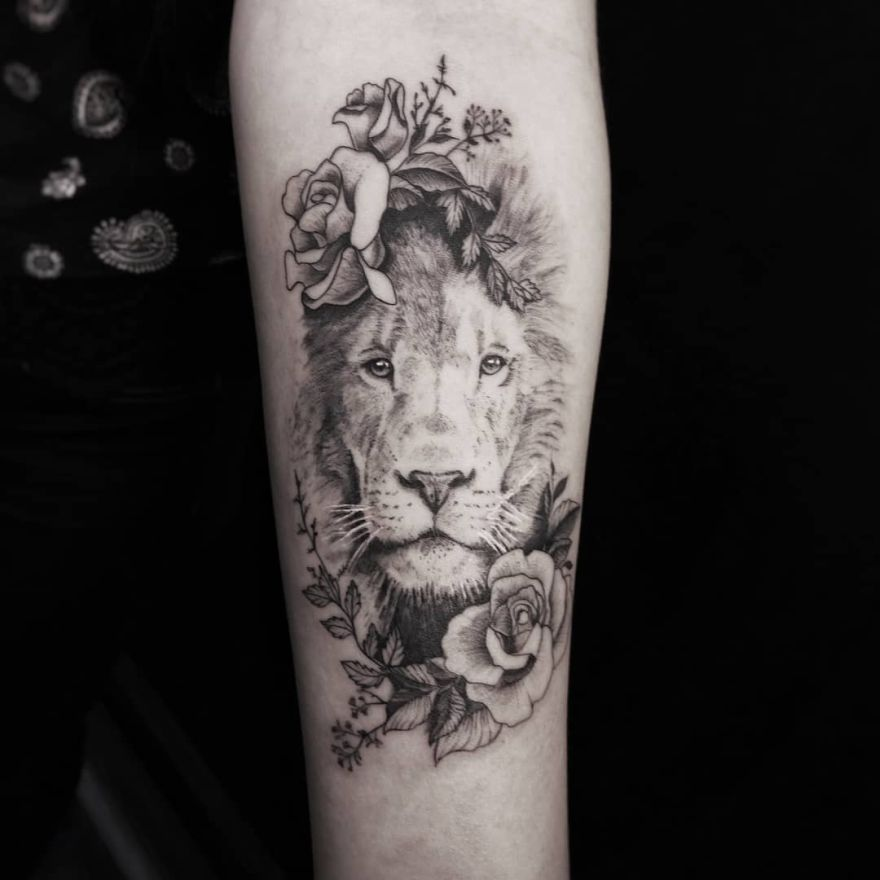 2841b66a74ac0 50 Eye Catching Lion Tattoos That Ll Make You Want To Get Inked