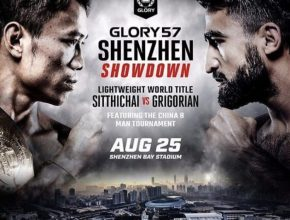 GLORY 57 Main Event Poster