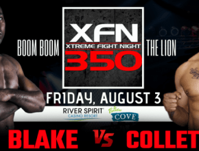 Blake vs Collette Poster