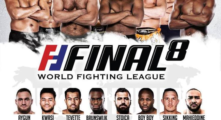 WFL Final 8 Poster