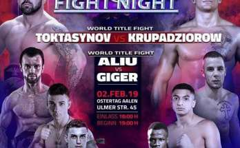 CWS Fight Night 4 Poster