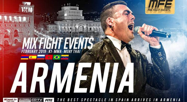 Mix Fight Armenia Poster