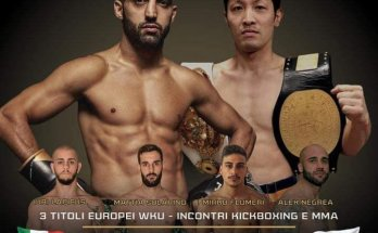 Petrosyan Mania Fight Poster