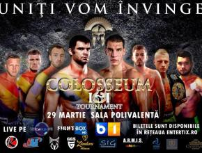 Colosseum Tournament 11 Event Poster