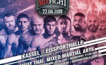 Mix Fight Championship 22 June Poster