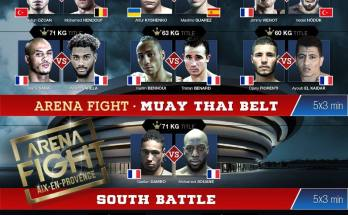 Arena Fight Poster