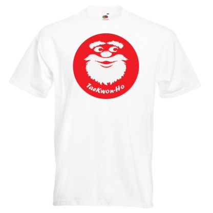 """TaeKwon-Ho"" Taekwondo Father Christmas T-Shirt"