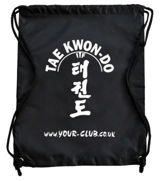 Taekwondo Drawstring Bags