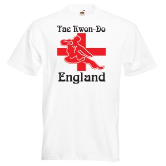 England ITF Taekwondo T-shirt