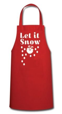 Let-it-snow-on-red-apron