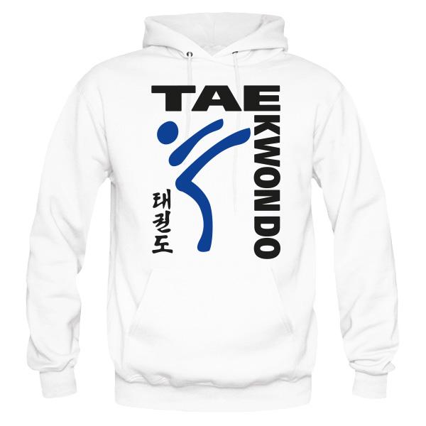 TAEKWONDO White Hoodie