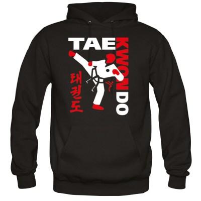 Black TAEKWONDO Hoodie